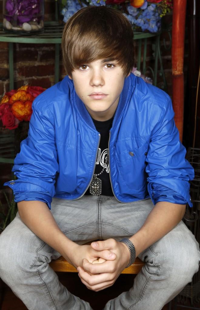 justin bieber 16. Canadian singer Justin Bieber