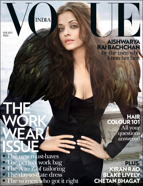 Aishwarya on Vogue cover page once again…