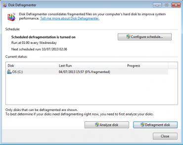 Disk Fragmentation and Defragmentation Explained