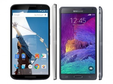 Nexus 6 Or Galaxy Note 4 – Which One Is More Powerful?