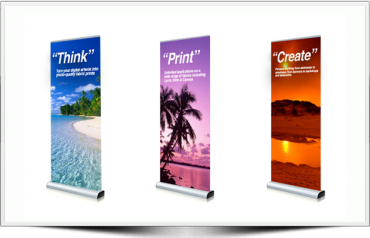 The Different Methods For Printing On Banners