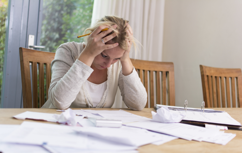 Fretting in Debt - 5 Ways to Get out of the Hole for Good