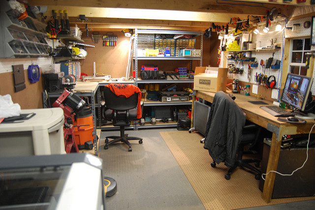 How To Arrange Lighting and Electrical Wiring In A Workshop