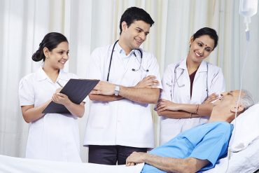 Health coverage available for a senior citizen in India?